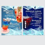 Jedálne, nápojové menu