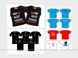 tričká grafické návrhy
